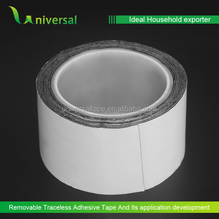 Reusable removable waterproof double-sided adhesive glue tape