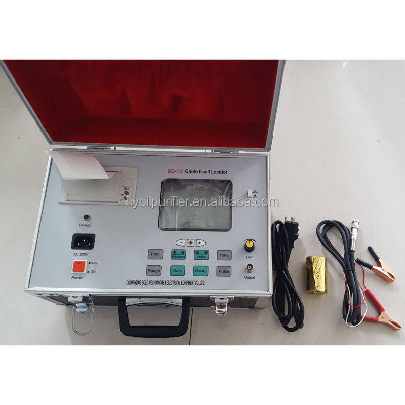 High Voltage TDR Cable Fault Locator / Underground Cable Fault Llocator / Cable Fault Locator ( GD-TC )