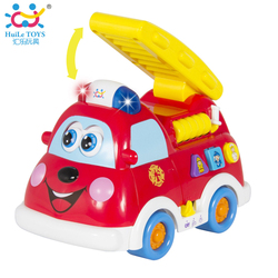 Newest Style Promotion Blue Fire Truck Toy