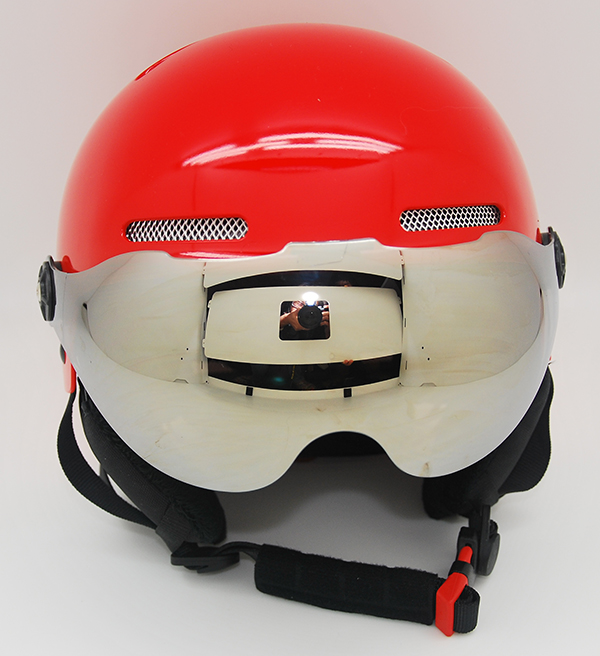 Au-s01 Custom Design Adult Snow Sport Safety For Skiing With Goggle Ski Helmet 7