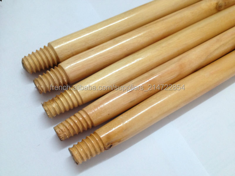 Poplar wood for cleaning tools broom sticks