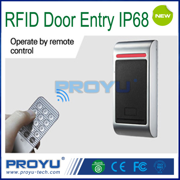 NEW RFID Waterproof Access Control Systems Program via Remote Button PY-M2EM