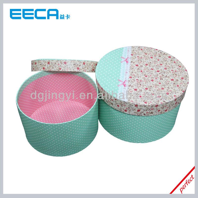 Fashion Round Cardboard Gift Basket Box Tower/gift Boxes Wholesale ...