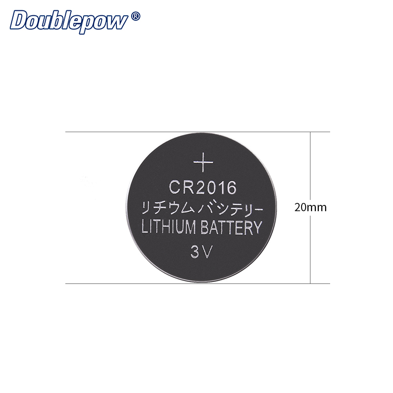 Lithium button cells battery CR2016 3.0V for doorbells watch