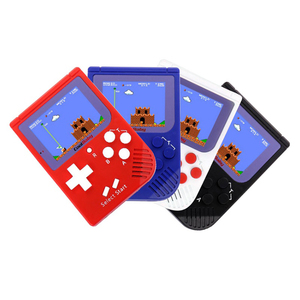 Portable slim handheld controller video game console for kids