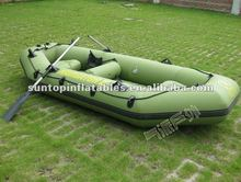 newest inflatable pvc funny drifting boat/rowing boat