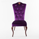 Quality promise Europe style crown classic royal imitated wood king chair