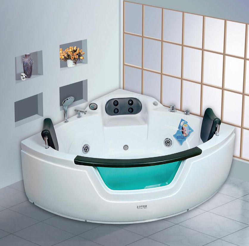 Bath Manufacturer Triangular Shape Acrylic Sanitary Small Size ...