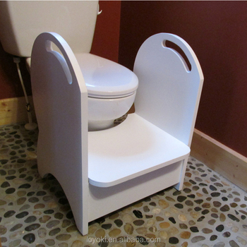 Wood Potty Step Stool Kids toilet step stool with handrail & Wood Potty Step Stool Kids Toilet Step Stool With Handrail - Buy ... islam-shia.org