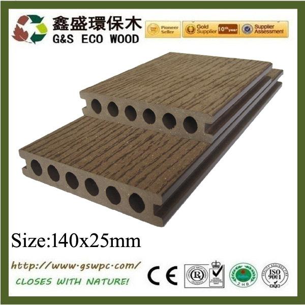 buena quailty y precio competitivo madera cubierta de plstico de suelos wpc decck pisos