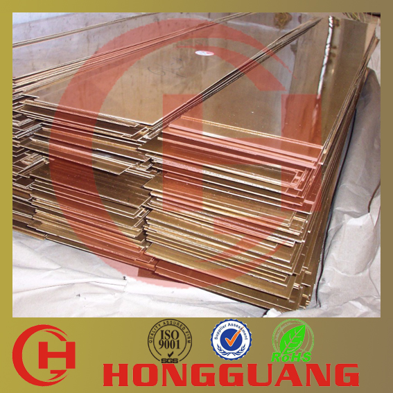 High purity C17200 beryllium copper sheet with best service