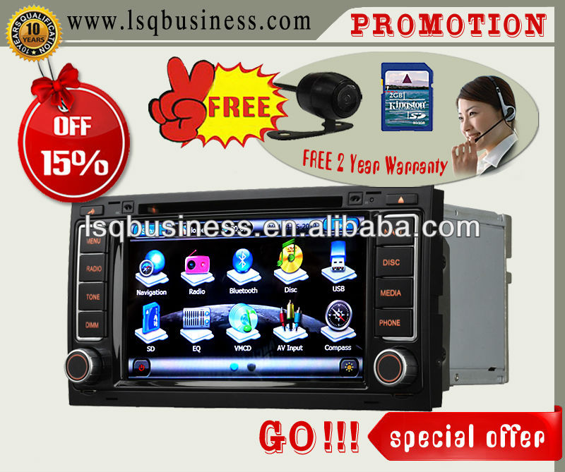 LSQ Star Cheap & perfect Quality Dvd Player For Volkswagen And Skoda Vw Ans710 Navi 7.0 & Bt Pip 3g Ipod 6cdc Gps Tv