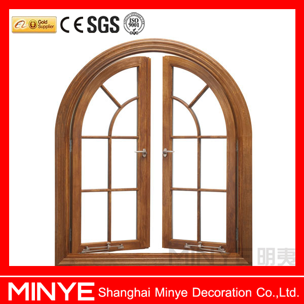 China Senior Supplier European Style Aluminum Arched Top Round ...