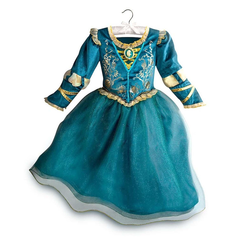 Disney Store Princess Brave Merida Girl Halloween Costume Dress