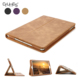 Genuine Leather Smart Cover Protective Slim Folio Flip Stand Case For Apple iPad 9.7 Inch With Card Slot Magnetic Sleep / Wake