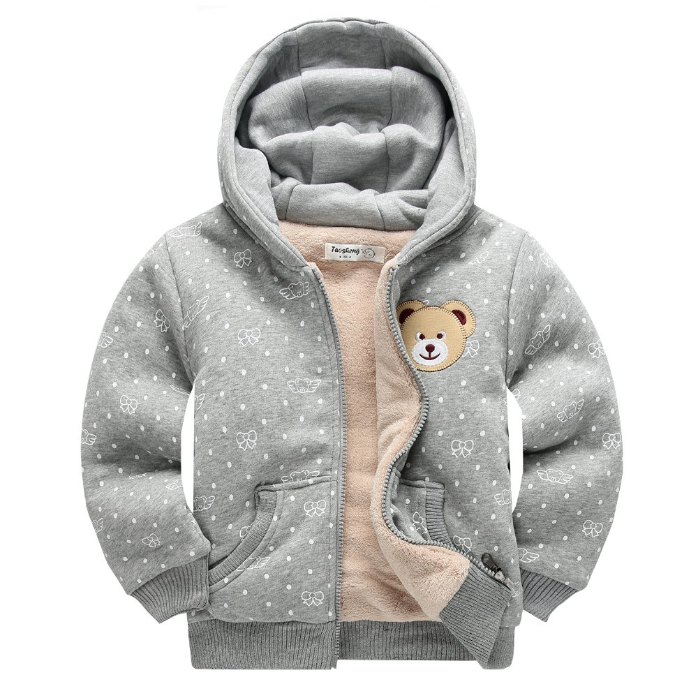R&H OEM velour high quality zipper childrens boutique clothing