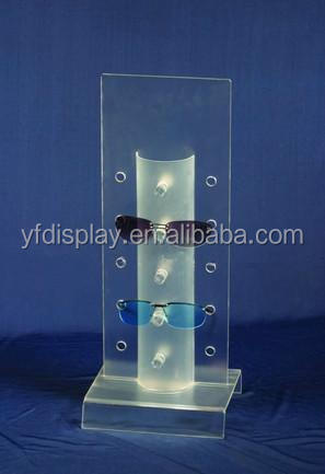 hot sale acrylic sunglasses display rack case