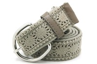 YJ-W0427 Unique lady leisure cotton leis canvas belt material canvas belt