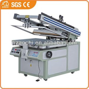 Semi-automatic hanky screen printer