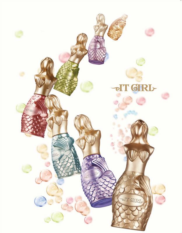 China Art Supply Kaga Unique Design Beauty Bottles Glass Nail ...