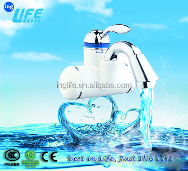 5 seconds hot water ,instant heat faucet ,Electric hot water tap ,electric heating faucet IND8101C