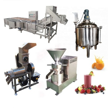 Professional blueberry grape lemon orange pears pineapple apple carrot orange juice processing mango juicer production line