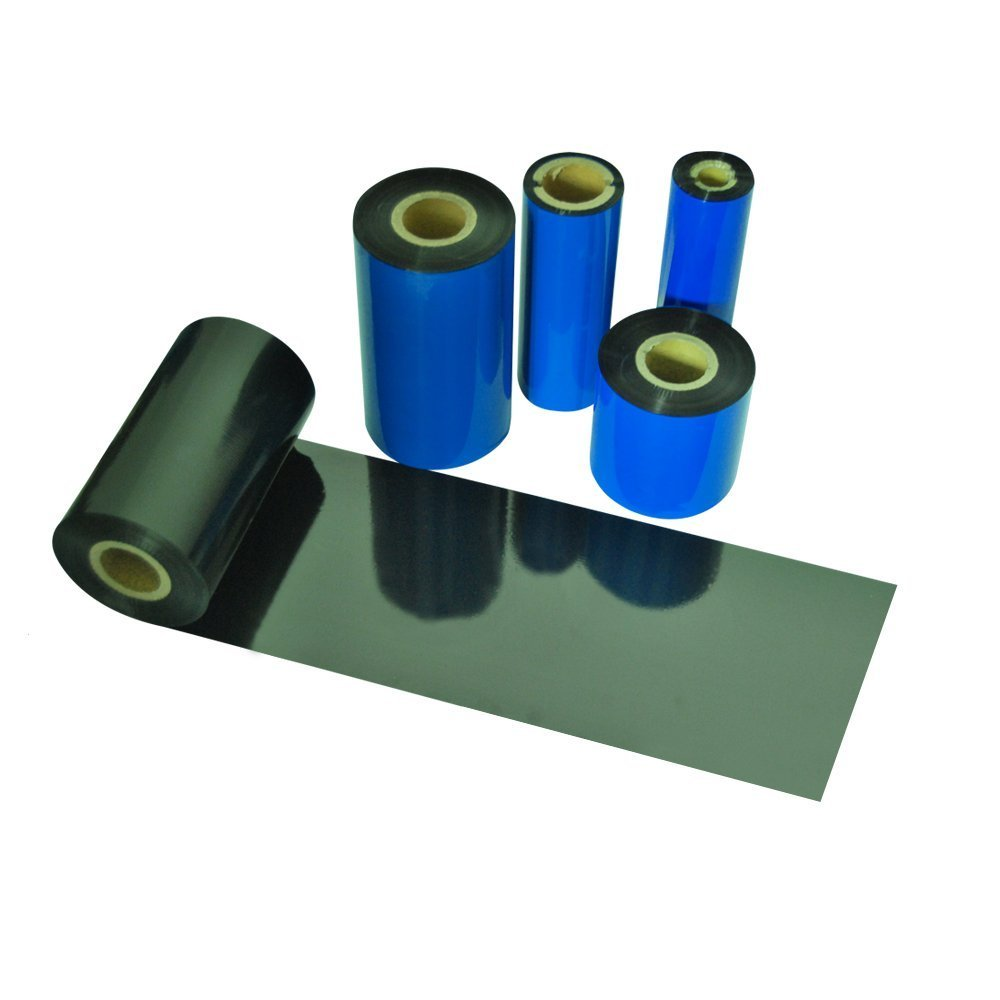 Box Of 12 110mm x 74m Black Thermal Transfer Ribbons Wax Grade