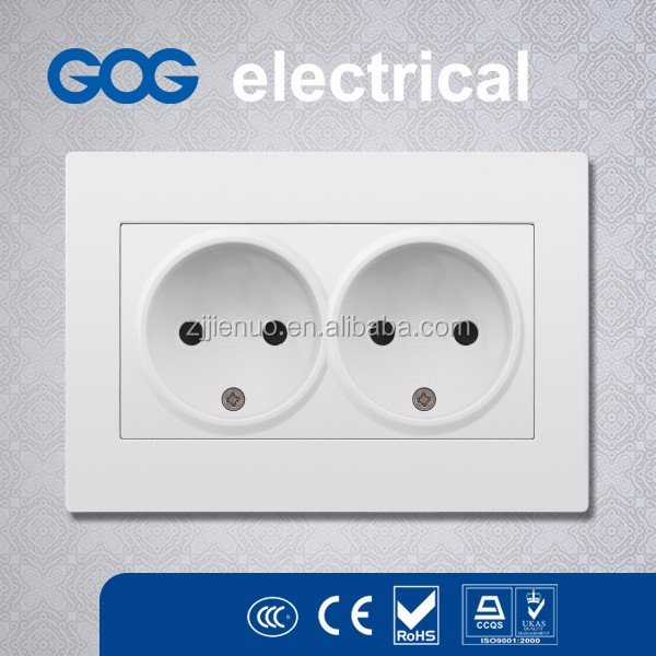 Fire Proof PC Panel electrical wall switch and socket Eu type
