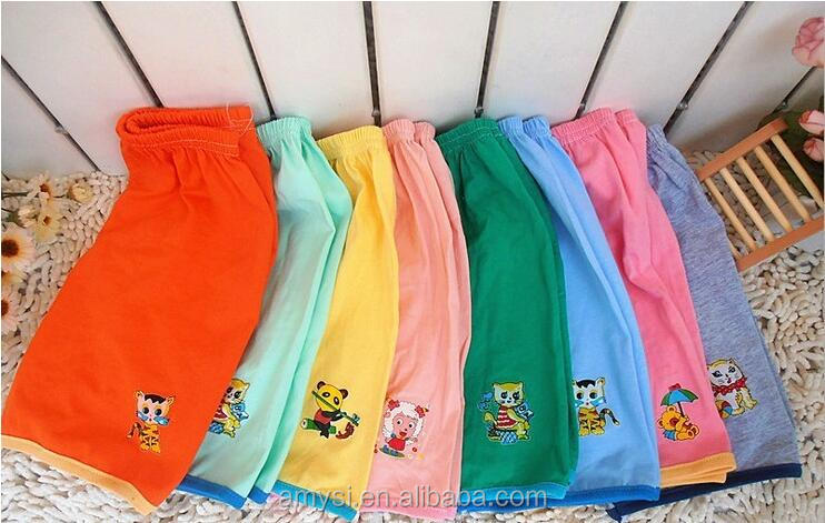 0.3 USD NK006 China manufacture cotton cartoon printed kids boys girl boxer briefs for 2 3 4 years