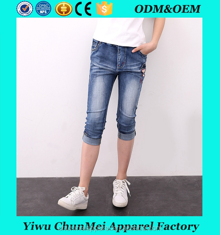2017 Summer New Teen Girls Short Jeans Mid Waist Shorts Casual Kids Pants Children's Clothing Trousers Clothes
