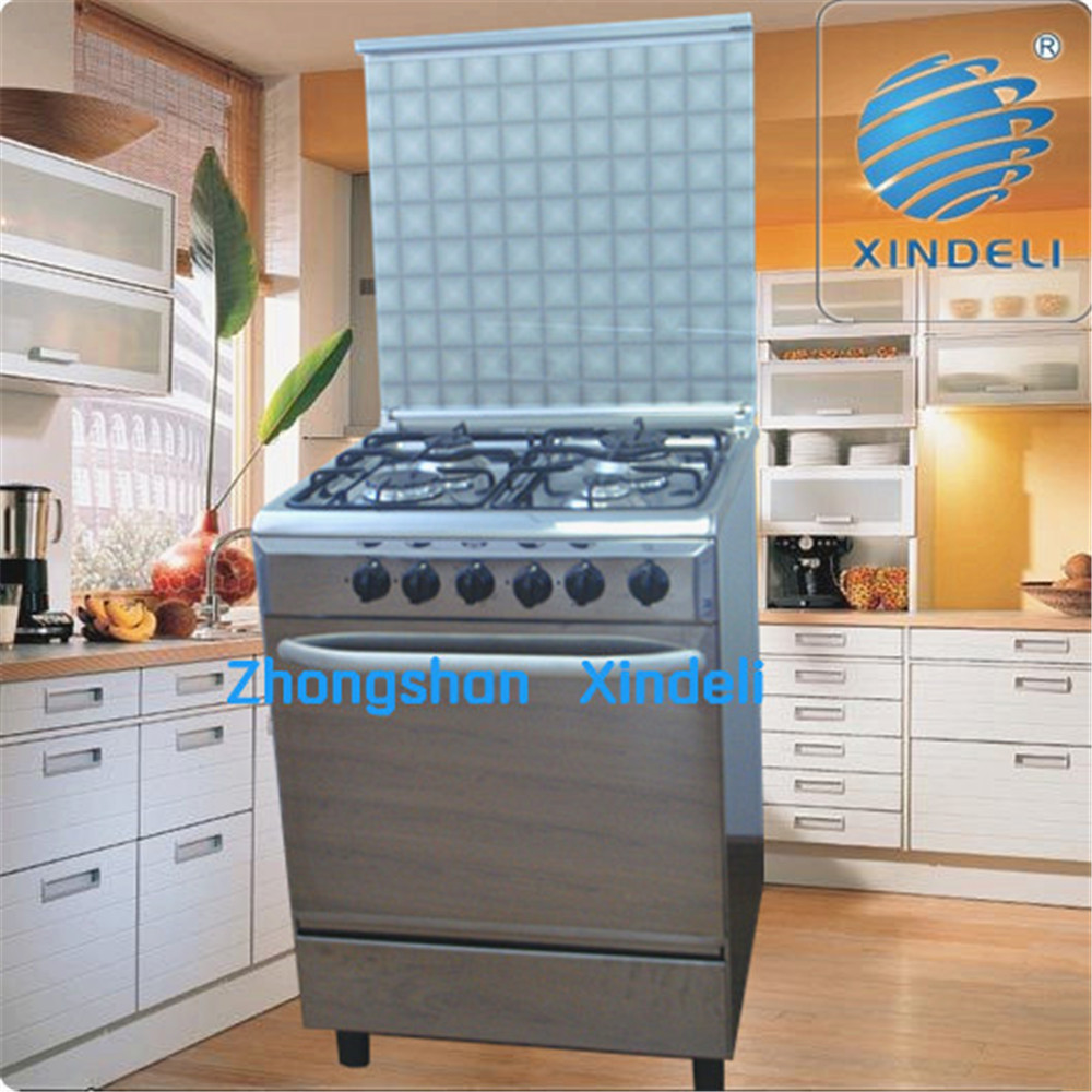 Canton Fair High Quality Gas Cooker With Oven Four Burner 600mm For ...