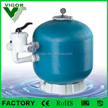 2016 VIGOR factory production sand filter for swimming pool / sand filter for water treatment plant