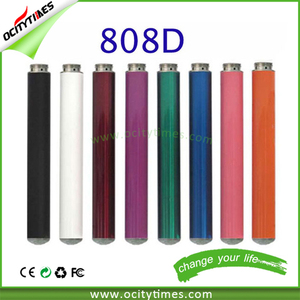 China factory wholesale electronic cigarette 808D battery 280mAh custom colors