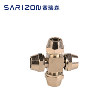 Sarizon 4 way Brass Plumbing Fitting for PVC PEX PPR Hot Water Pipe
