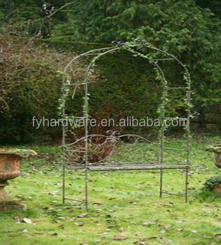 7 5ft Arche De Jardin En Fer Forgé Tonnelle Treillis Buy Treillis