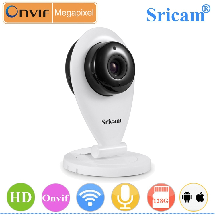 New Arrival support night vision 128g TF card slot baby monitor 720P mini wireless ip camera