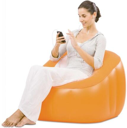 Furniture living room air sofa set available color cube inflatable lounger chair