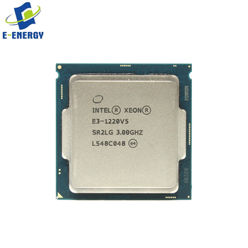 4 Cores CPU In Stock E3-1220V5 Intel Xeon Server Processor