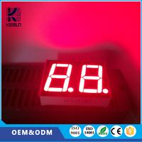 Factory supply Customized 10 PINS 0.4 inch 7 segment 2 digital led wall clock