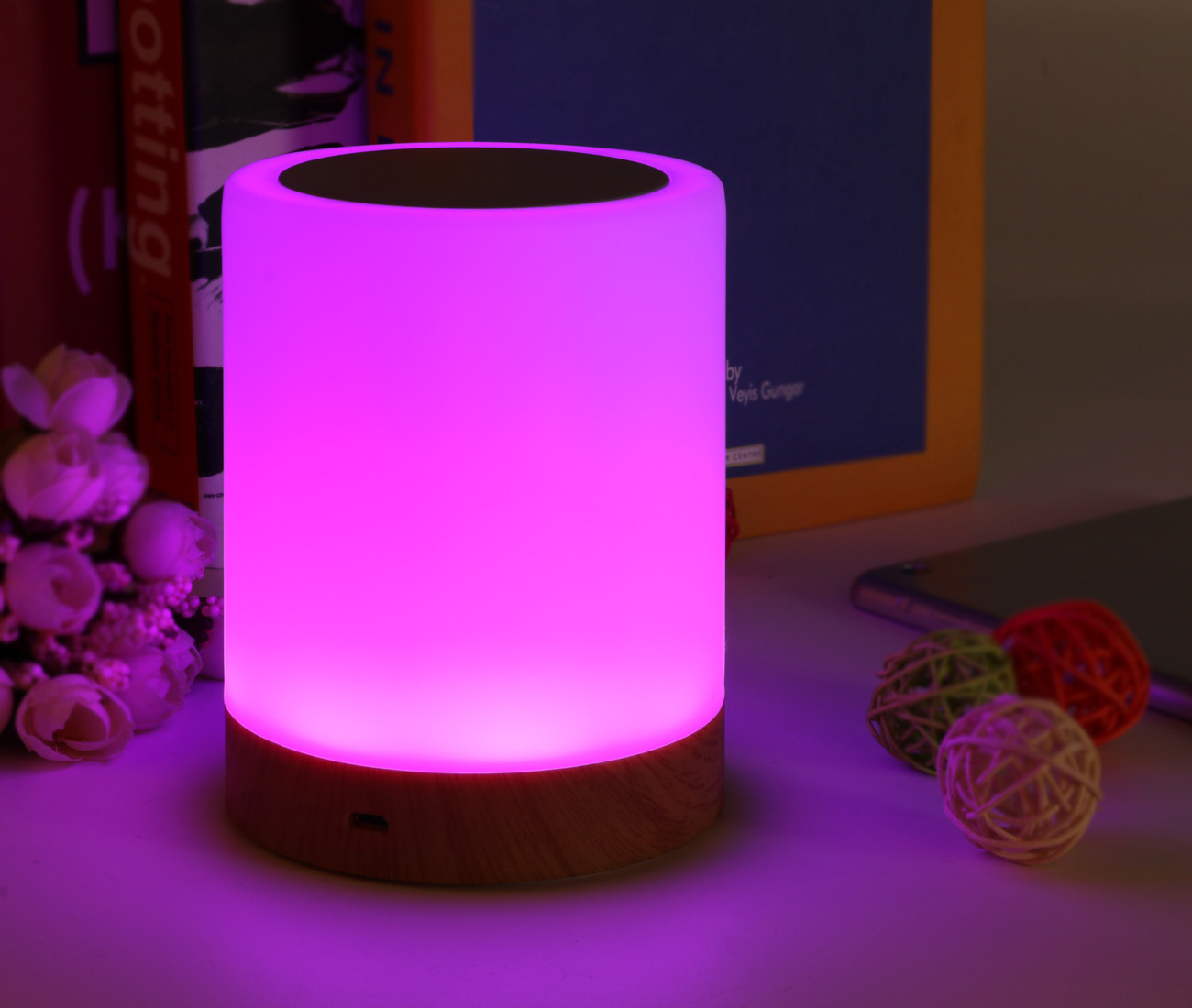 Led toys desk lamp toilet night light for kids, children, adults