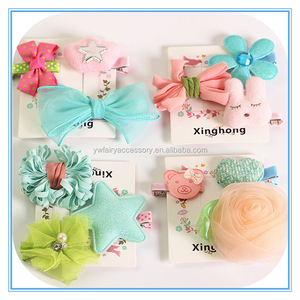 Latest baby hair accessories japanese design cute girls kids hair clips