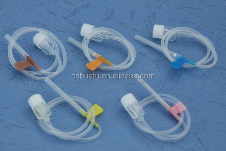 With CE&ISO Certification medical use 23g butterfly needle