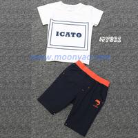 Wholesale baby child clothing sets boys fashion no brand clothing