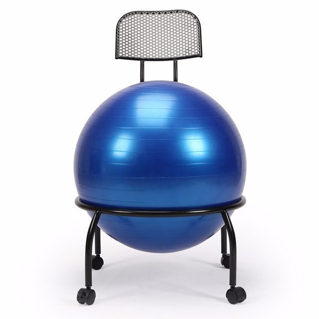 image  sc 1 st  Aliexpress & Online Shop Balance Ball Chair Exercise Yoga ball chair Adjusted ...