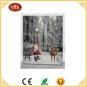 light up wooden wholesale picture frame canvas cheap
