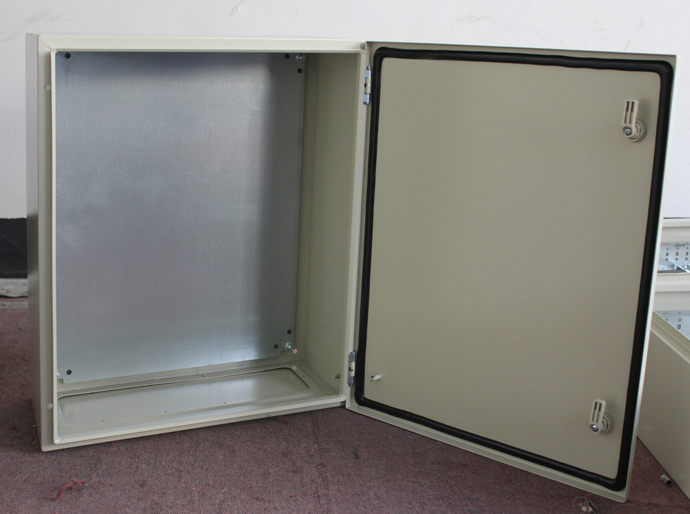 Tibox Outdoor Equipment Enclosure Ral7032 Or Ral7035 Metal