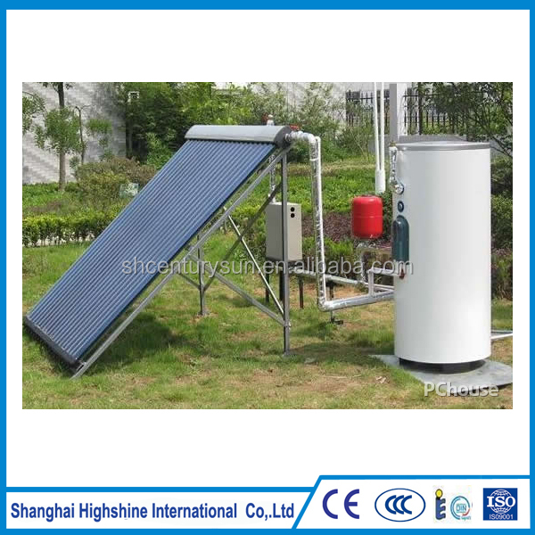 High quality Pressure split Separated Solar hot Water Heater System certificate good price