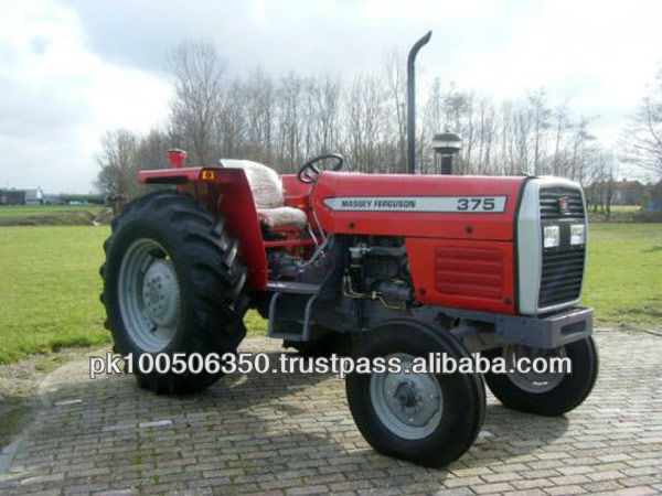 Massey Ferguson Mf 375 Power Steering Tractor