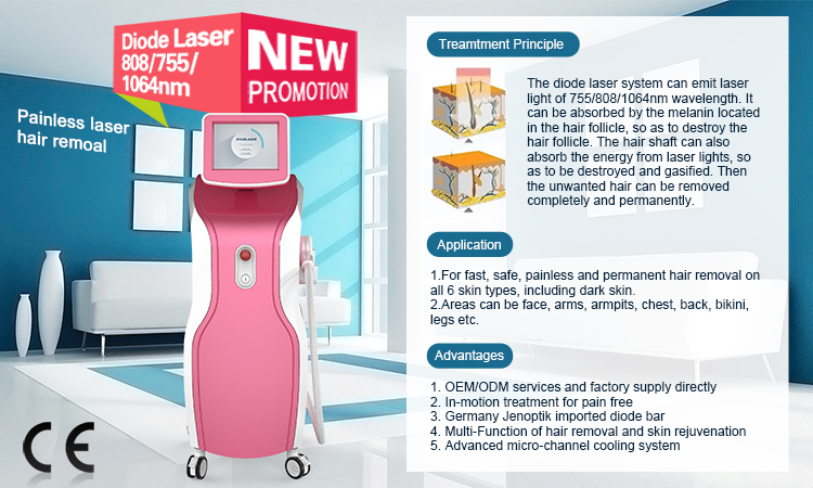 Vertical 755/808/1064nm 3 wavelength diode laser hair removal permanent hair removal 600w diode laser machine