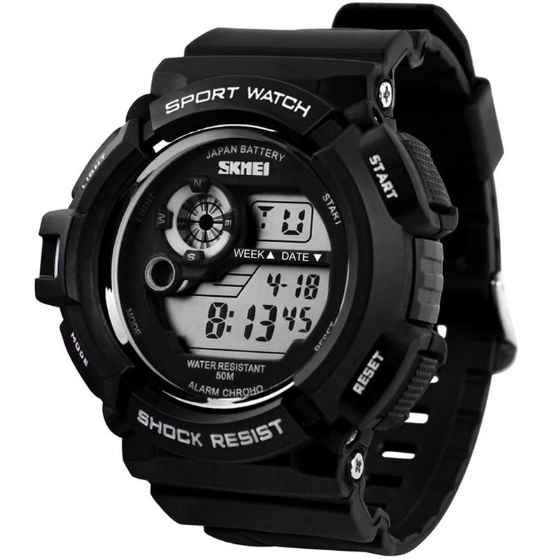 Новый G Стиль Цифровые Часы С Шок Мужчины армия армия Часы водонепроницаемые Дата Календарь СВЕТОДИОДНЫЕ Спортивные Часы relogio masculino
